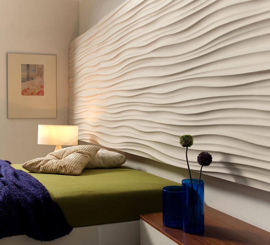 3D wall cladding