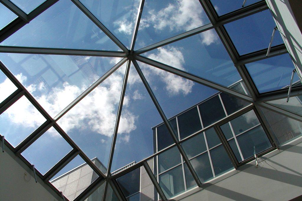 pyramid shaped skylight