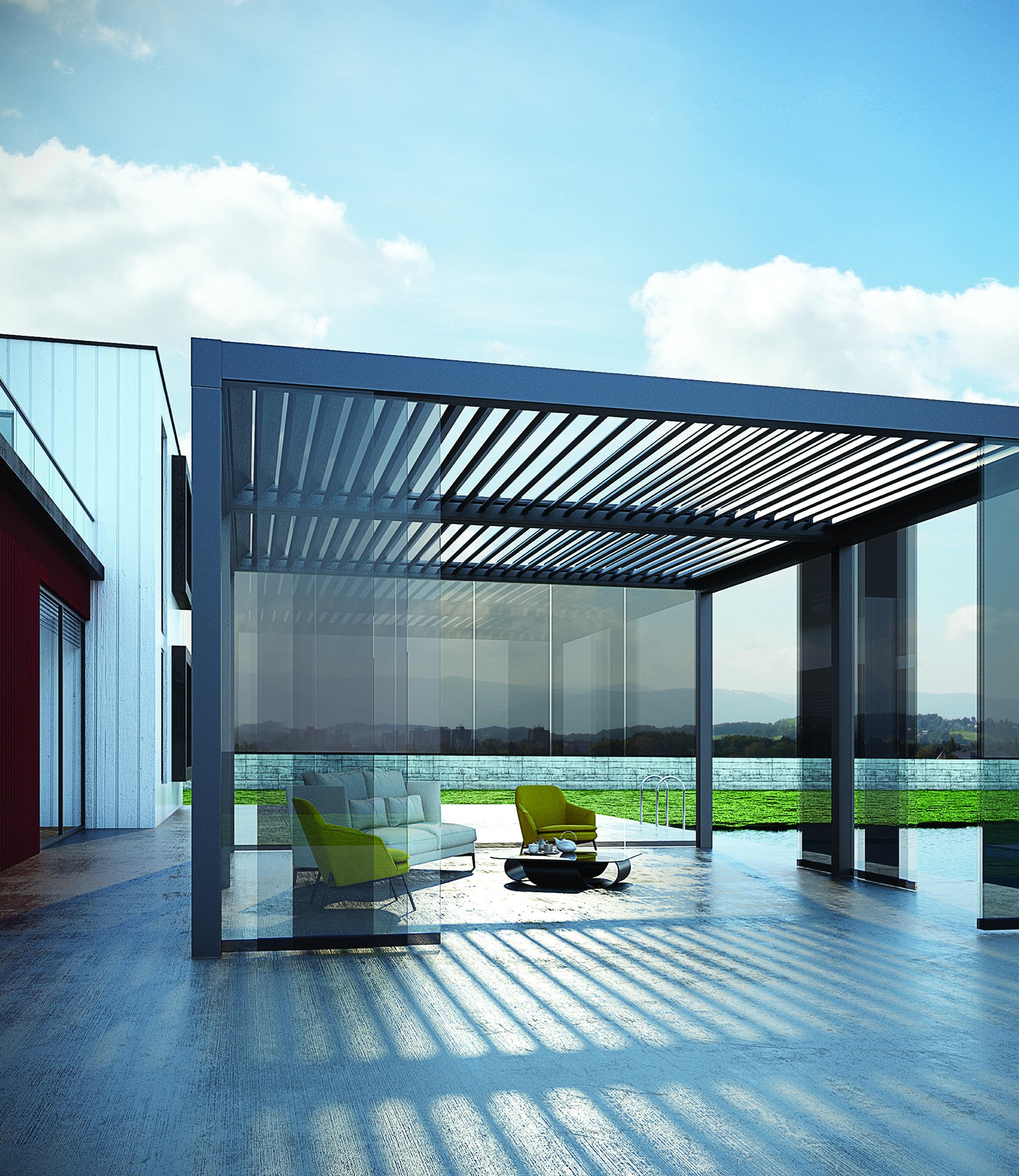 Aluminium Pergola – Tilt Only